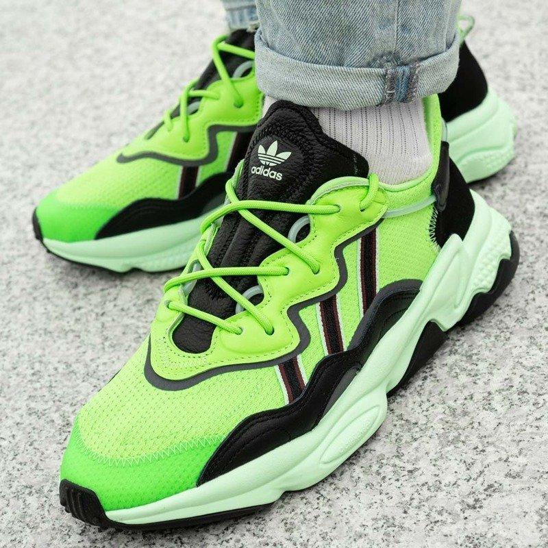 ADIDAS OZWEEGO GR. 44 Herren Sneaker Turnschuhe Schuhe Grün