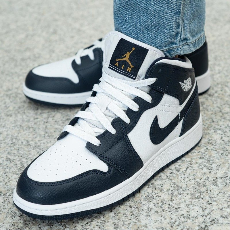 Nike Air Jordan 1 Mid GS (554725-174)