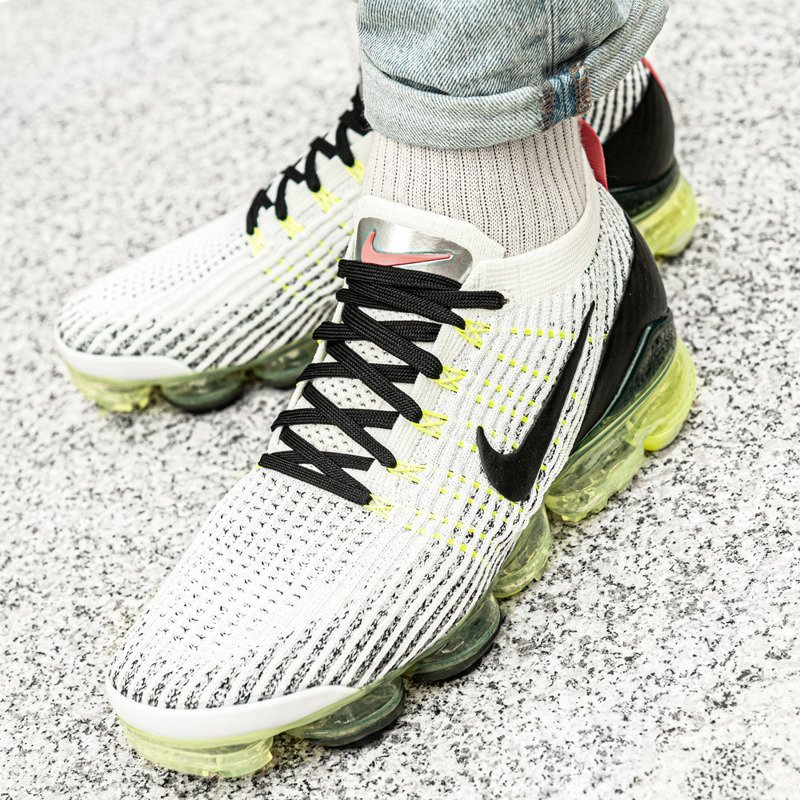 Schuhe Nike AIR VAPORMAX FLYKNIT 3 Weiß aj6900 100